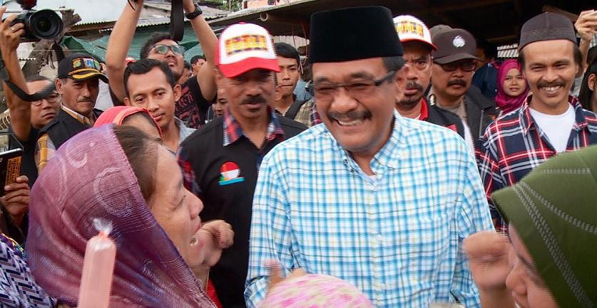 Meski Lengser, Djarot Tetap Awasi Jakarta