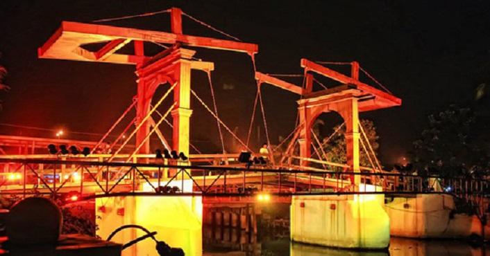 Jembatan Kota Intan, Saksi Bisu Keberadaan Keraton Jayakarta