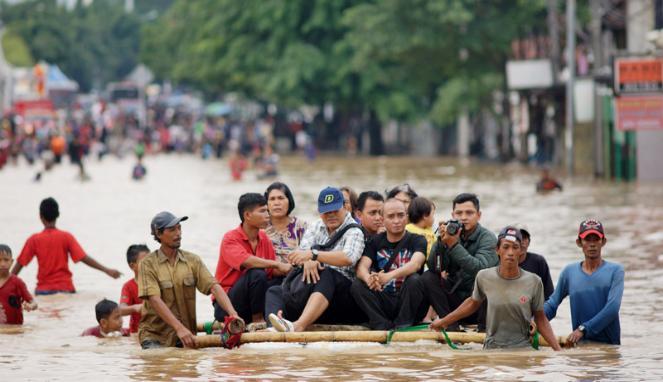 Kampung Melayu, Pondok Labu, Cipinang Melayu Tergenang air