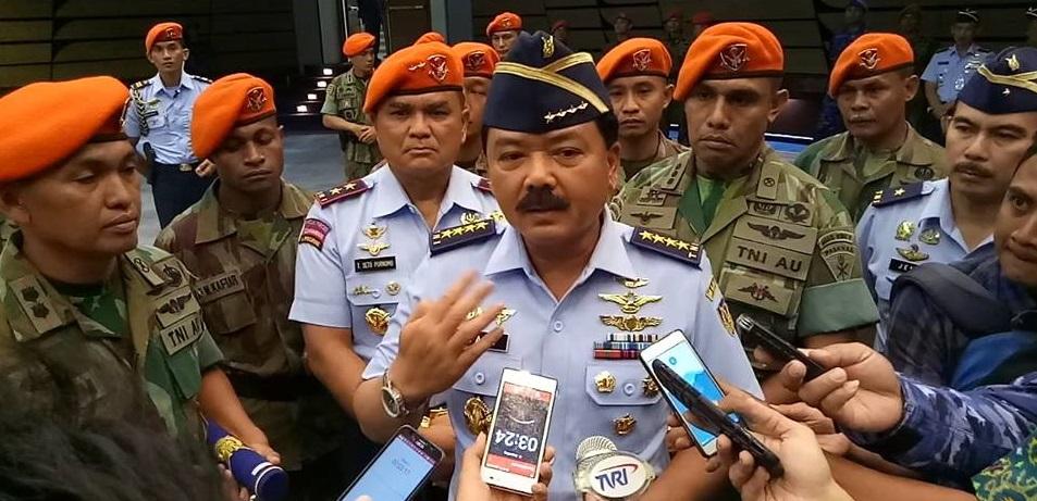 Panglima TNI, Nama Marsekal Hadi Tjahjanto Diserahkan DPR