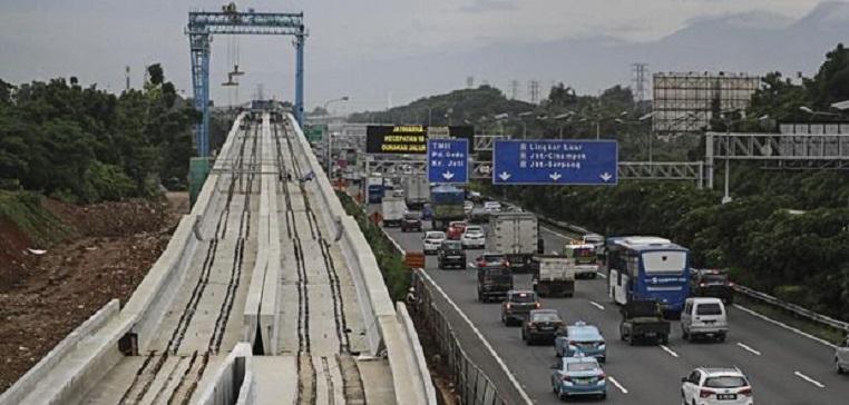 Wapres JK Ragu Proyek LRT Jakarta Rampung Jelang AG 2018