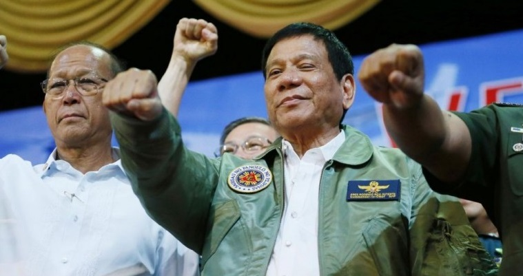Paspampres Duterte Tewas Ditembak