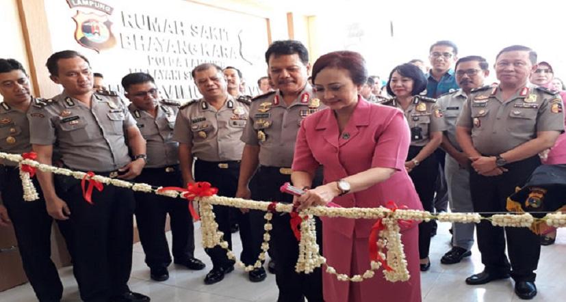 Kapolda Lampung Resmikan Faviliun Baru RS Bhayangkara