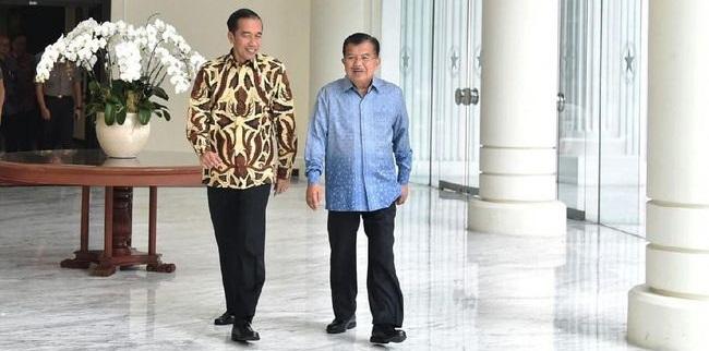 Wapres Jusuf Kalla Dukung Jokowi Maju Pilpres 2019