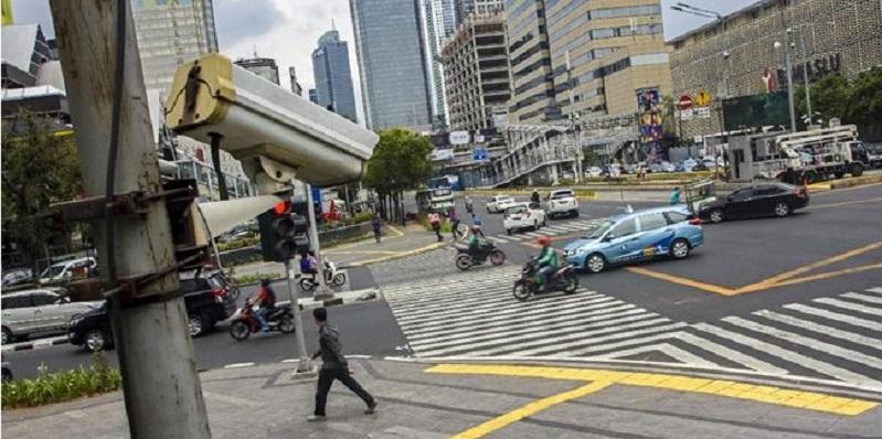 6 Hari Uji Coba, Tilang CCTV Rekam 613 Pelanggar