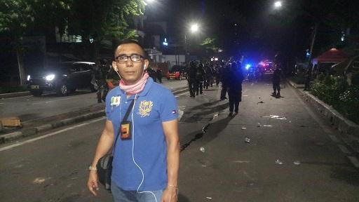 Korban Keberingasan, Jurnalis Budi Tanjung Melapor ke Mabes Polri