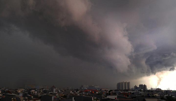 Siang Hari, Jakarta Berpotensi Hujan