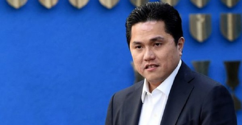 Erick Thohir Mencuat Jadi Ketum PSSI