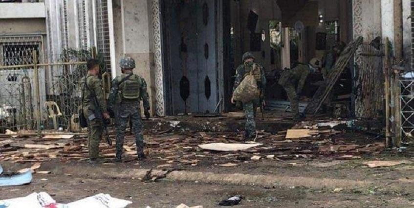 Dua Ledakan Guncang Katedral di Filipina, 17 Tewas