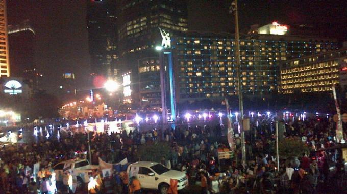 Jakarta Peringati Momen Tahun Baru Islam di Bundaran HI