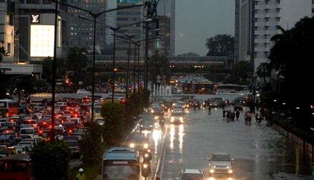 Senin, Jakarta Diprediksi Hujan