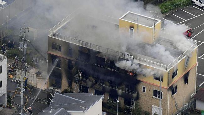 Studio Animasi Jepang Terbakar, 13 Orang Tewas