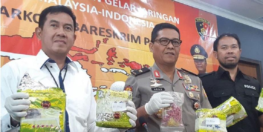 Lima Pengedar 24 Kilogram Sabu Dibekuk, 1 Tewas Ditembak