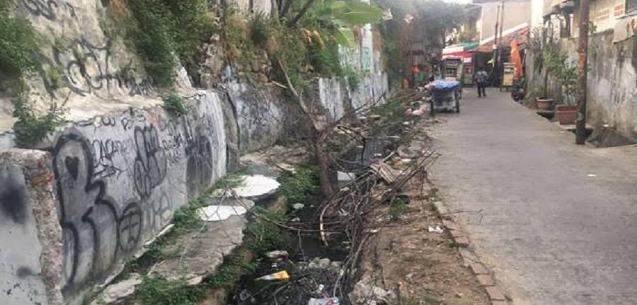Dikeluhkan, Pengelolaan Saluran Air di Jakarta Selatan