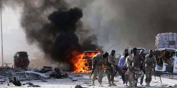 Bom Bunuh Diri Meledak di Somalia, 7 Tewas
