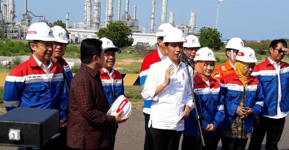 Presiden Jokowi: TPPI Tekan Impor & Hemat Rp56 Triliun