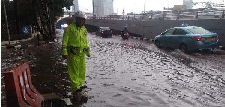 Sabtu Pagi, Banjir & Genangan Air Warnai Sejumlah Titik Jakarta