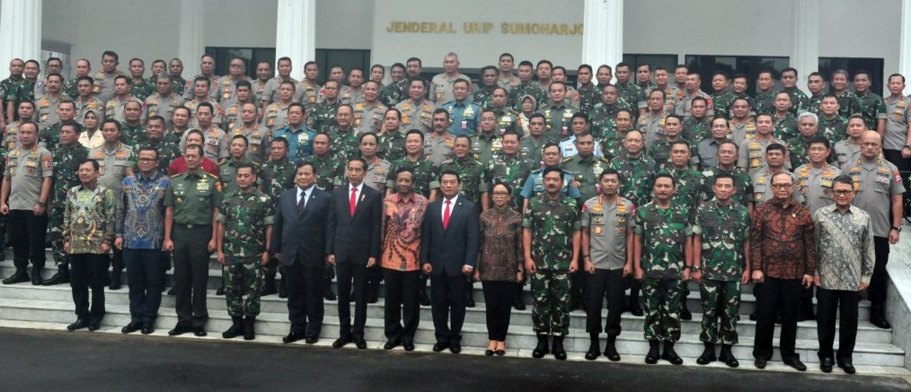 Presiden Jokowi: Anggaran Kemhan Terbesar, Jangan Ada Mark Up