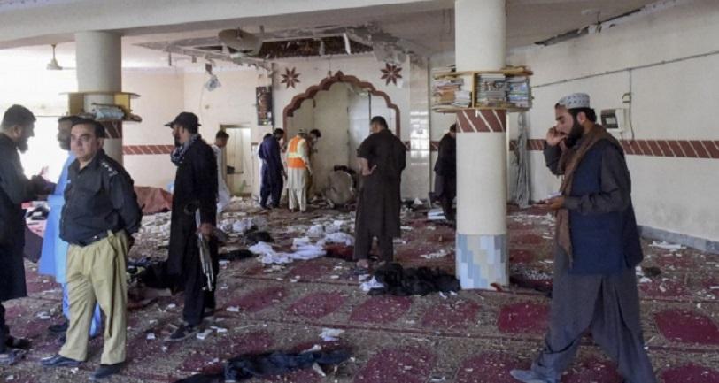 Ledakan Dahsyat di Masjid Pakistan, 15 Orang Tewas