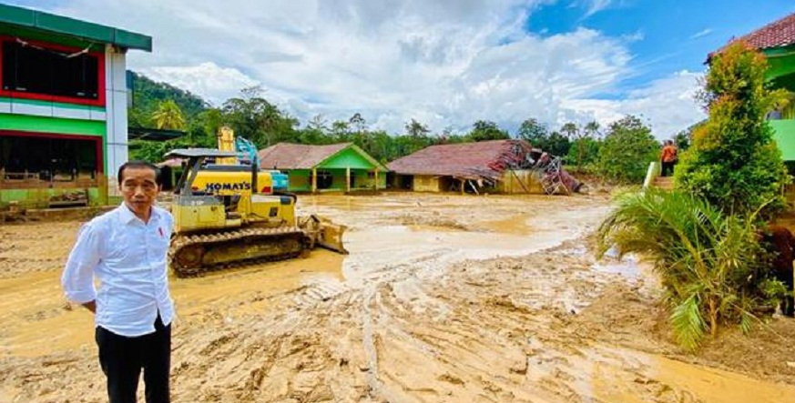 Presiden Jokowi: Banjir Bandang di Lebak Akibat Tambang Emas Ilegal