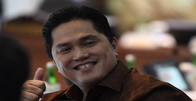 Menteri BUMN Erick Thohir Diancam