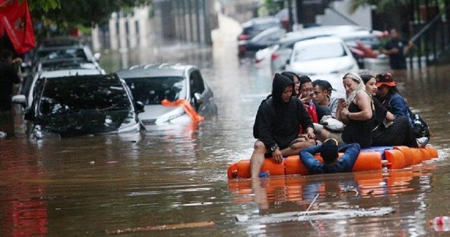BNPB: 169 Titik Banjir di Jabodetabek