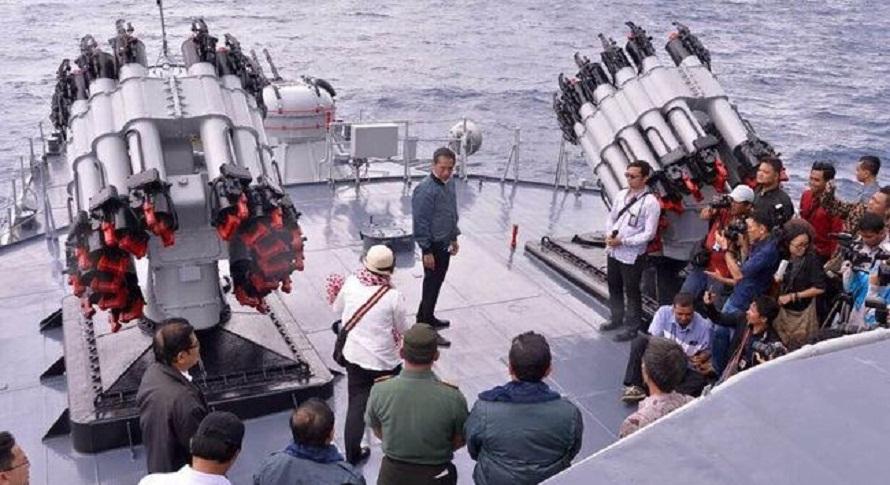 Presiden Jokowi: Kepulauan Natuna Teritorial NKRI