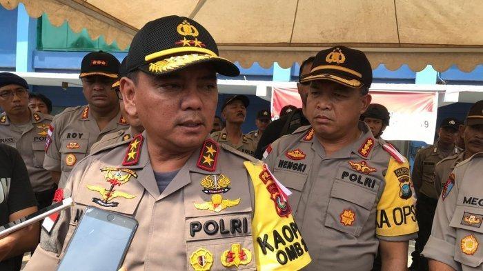 Tim Penyuluhan Polda Kepri Ajak Warga Natuna  Tidak Cemaskan Corona