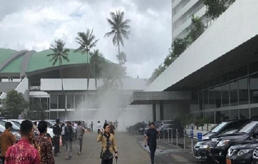 Asap di Gedung Nusantara III DPR Karena Aerosol Hang