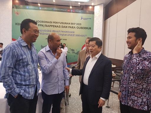 Gubernur se Indonesia Rakor RKP dengan Menteri Suharso Monoarfa