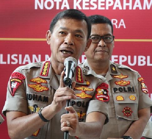 Jenderal Idham : Saya Sikat, Kalau Berani Main Curang Dana Covid-19