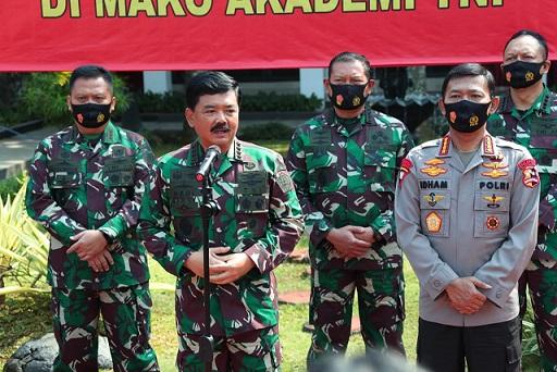 Kapolri & Panglima TNI Minta Perwira Remaja Tetap Jaga Soliditas & Sinergitas TNI-Polri