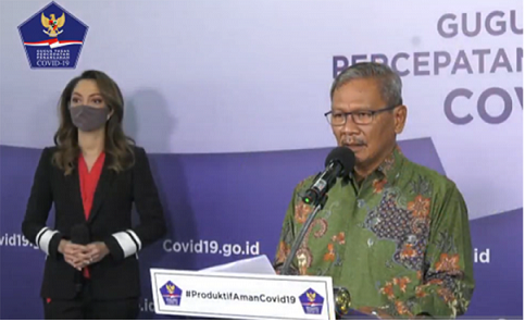 Indonesia Dituding Epicentrum Corona, Pasien Positif 75.699 Sembuh 35.638 Meninggal 3.606