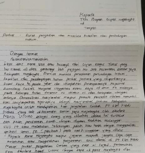 Dikriminalisasi Pengusaha Limbah, Keluarga Aktivis Mengadu ke Bupati Majalengka