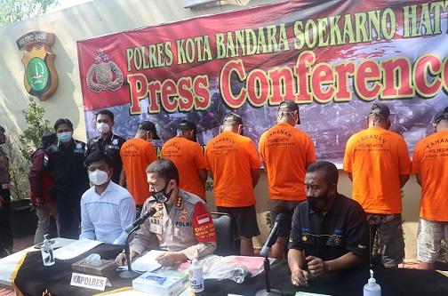 Pencuri Gasak Kran & Shower Gedung Polres Bandara Soetta