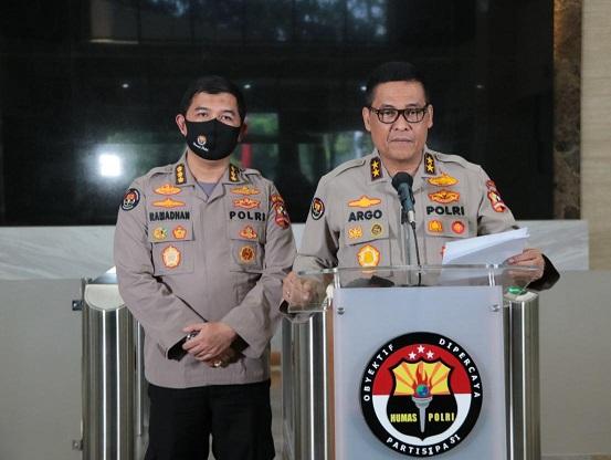 PM & Provost Polri Displinkan Anggota Gunakan Masker