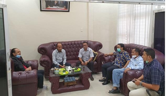 KIP Kota Lhokseumawe Terima Kunjungan Anggota DPD RI