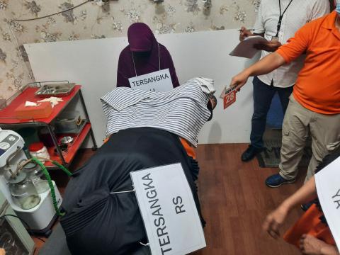 Gali Fakta Baru, Subdit Jatanras Rekonstruksi Kasus Klinik Aborsi Ilegal Percetakan Negara