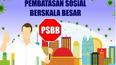 Ingat,  Senin 14 September PSBB Berlaku di  DKI