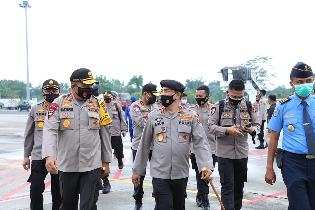 Kabaharkam Polri Supervisi Penanganan COVID-19 &  PAM Pilkada serta Kebijakan Pangan di Sumut