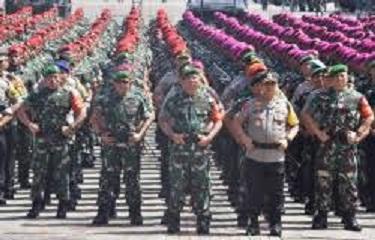 Amankan Ibukota, Polri & TNI Gelar Patroli Berskala Besar