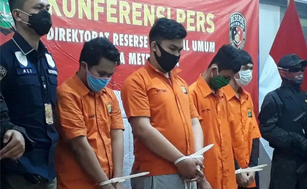 Subdit Resmob Polda Metro Amankan 6 Pengeroyok Anggota Polisi Saat Demo UU Omnibus Law