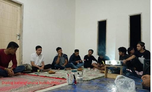Refleksi Sumpah Pemuda,Karang Taruna Bina Bangsa Bulukumba Gelar Dialog Kepemudaan