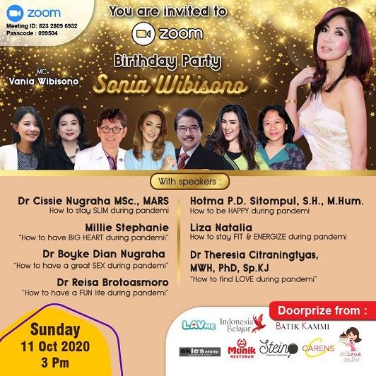 Kiat Sehat, Bahagia & Seimbang saat Pandemi ala dr Sonia Wibisono