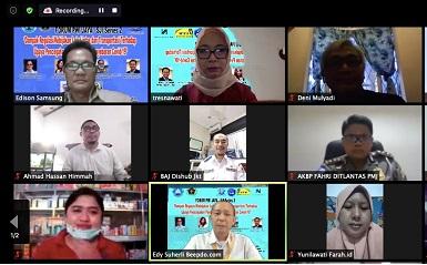 Webinar SJI PWI Jaya : Kesadaran Masyarakat Kunci Penanganan Covid-19
