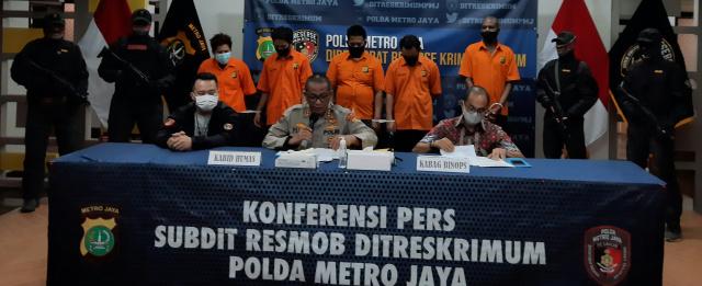 Subdit Resmob Polda Metro Amankan Rekanan Pelaku Pembunuhan di Depok