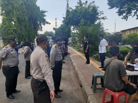 Operasi Yustisi Tiga Pilar Tambora Jaring 26 Orang Pelanggar Prokes