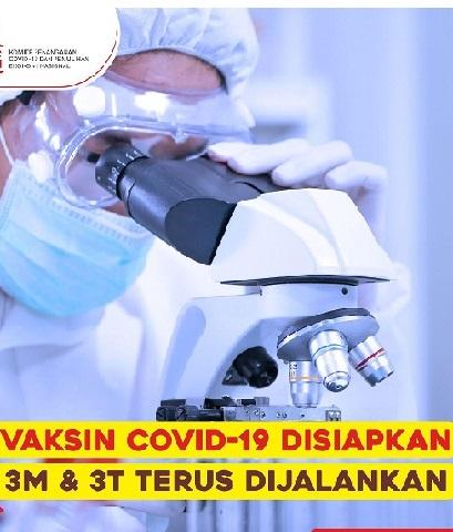 Selain Nakes & Vaksinator Edukasi Penting, Total Positif 629.429 Sembuh 516.656 Meninggal 19.111