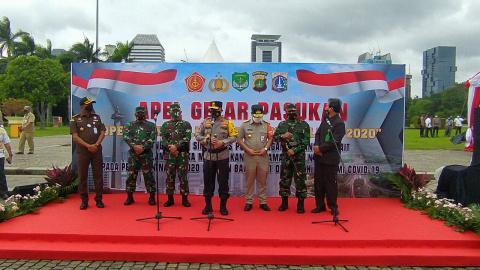 Kapolda Metro dan Pangdam Jaya Pimpin Apel Kesiapan Operasi Lilin 2020