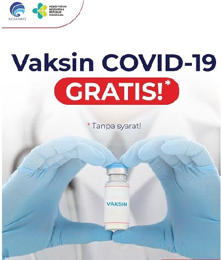 Vaksin Efektif Bila Disertai Displin 3M & 3T , Total Positif 671.778 Sembuh 546.884 Meninggal 20.085